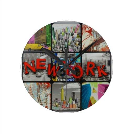 Paisaje Nueva York del reloj Clock