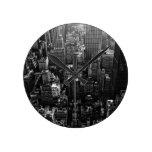 Paisaje Nueva York del reloj Wallclock