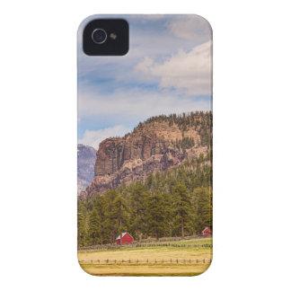 Paisaje occidental de Colorado iPhone 4 Case-Mate Protectores