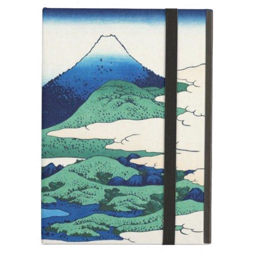 Paisaje oriental fresco de la opinión de Hokusai F
