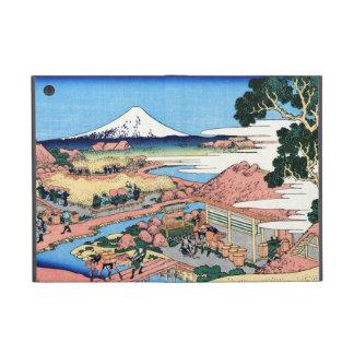 Paisaje oriental fresco de la opinión de Hokusai F iPad Mini Protector