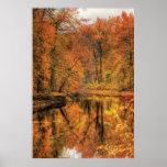Paisaje - otoño en New Jersey Poster