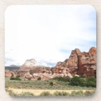 Paisaje panorámico de Utah Posavasos De Bebida