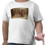 Paisaje para la escena con Mimi y Rodolfo Camisetas