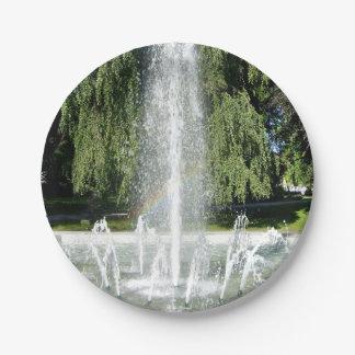 Paisaje, parque, parques, jardín, placas de papel