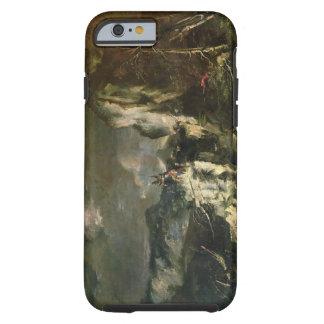 Paisaje rocoso con un Huntsman y los guerreros Funda De iPhone 6 Tough