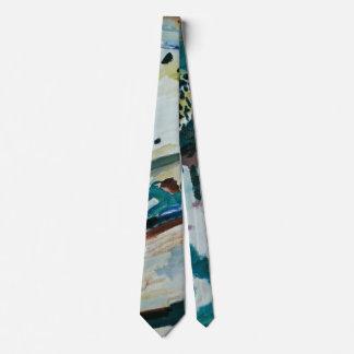 Paisaje romántico de Wassily Kandinsky Corbatas