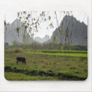 Paisaje Savoring de la vida… /Guilin, China Tapetes De Ratón