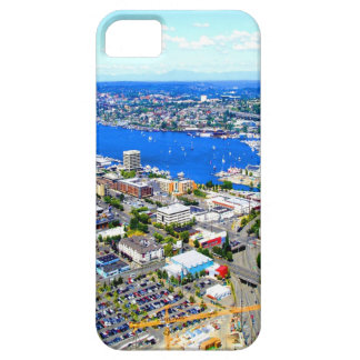 paisaje Seattle Seattle céntrica de la navegación  iPhone 5 Coberturas