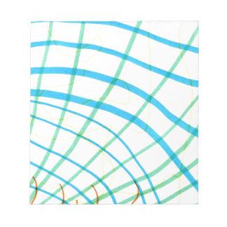 Paisaje sinusoidal blocs de papel