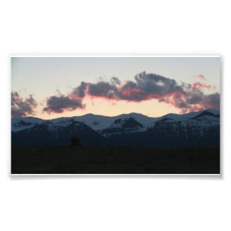 Paisaje Skyscape Waterscape de Ishawooa Wyoming Fotografía