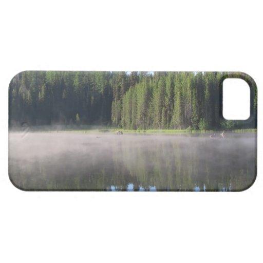 Paisaje Skyscape Waterscape de Umatilla Oregon Funda Para iPhone 5 Barely There