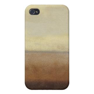 Paisaje solitario del desierto del normando Wyatt iPhone 4 Fundas