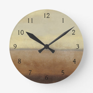 Paisaje solitario del desierto del normando Wyatt Reloj Redondo Mediano