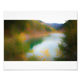Paisaje suave - barranco grande Idaho de los alces Fotografía