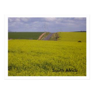 Paisaje surafricano tarjeta postal