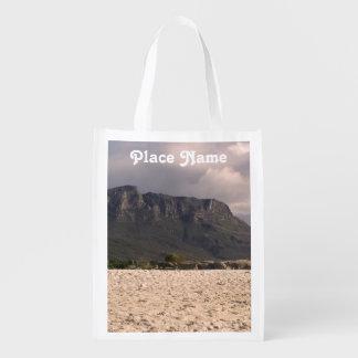 Paisaje surafricano bolsas reutilizables