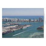 Paisaje urbano 2 de Miami Felicitación
