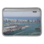 Paisaje urbano 2 de Miami Fundas Para Macbook Air