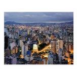 Paisaje urbano 2 de Sao Paulo Tarjeta Postal