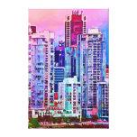 paisaje urbano #4 lona estirada galerias