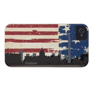 Paisaje urbano americano Blackberry de las Carcasa Para iPhone 4 De Case-Mate