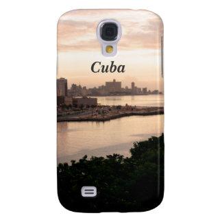 Paisaje urbano cubano funda para galaxy s4