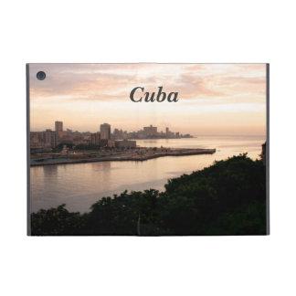 Paisaje urbano cubano iPad mini fundas
