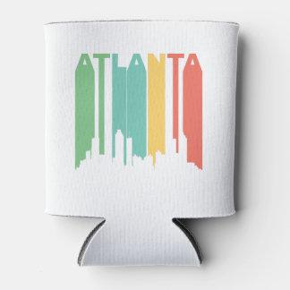 Paisaje urbano de Atlanta del vintage Enfriador De Latas