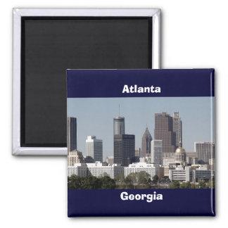paisaje urbano de Atlanta Georgia Imán