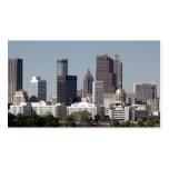 Paisaje urbano de Atlanta Georgia Tarjeta De Negocio