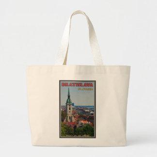 Paisaje urbano de Bratislava Bolsas De Mano