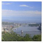 Paisaje urbano de Budapest Azulejos Cerámicos