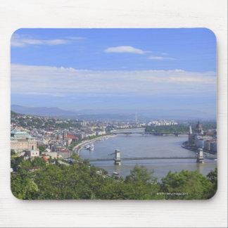 Paisaje urbano de Budapest Alfombrillas De Ratón