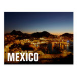 Paisaje urbano de Cabo San Lucas en la puesta del Tarjetas Postales