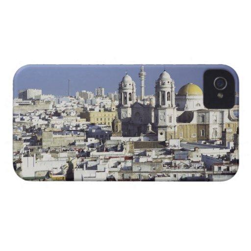 Paisaje urbano de Cádiz, España Case-Mate iPhone 4 Carcasa
