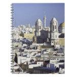Paisaje urbano de Cádiz, España Libro De Apuntes Con Espiral