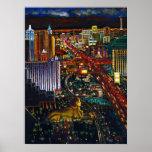 Paisaje urbano de CBjork Las Vegas Impresiones