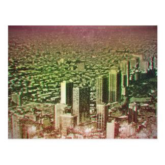 paisaje urbano de Chicago Tarjetas Postales
