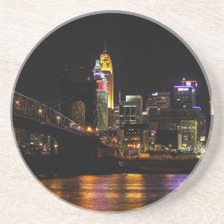 Paisaje urbano de Cincinnati Posavasos Cerveza