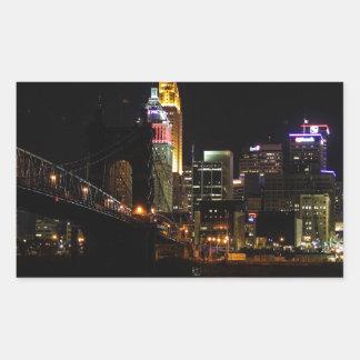Paisaje urbano de Cincinnati Rectangular Altavoz