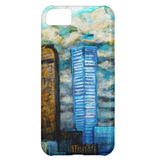 Paisaje urbano de Denver, caso del arte para el ip Funda Para iPhone 5C