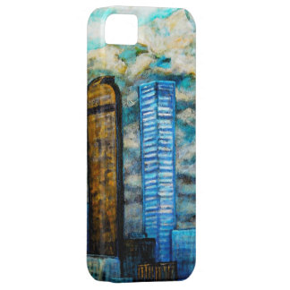 Paisaje urbano de Denver, caso del arte para el iPhone 5 Fundas