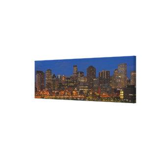 Paisaje urbano de Denver Impresión En Lienzo