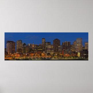 Paisaje urbano de Denver Poster
