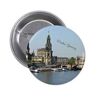 Paisaje urbano de Dresden Alemania Pin