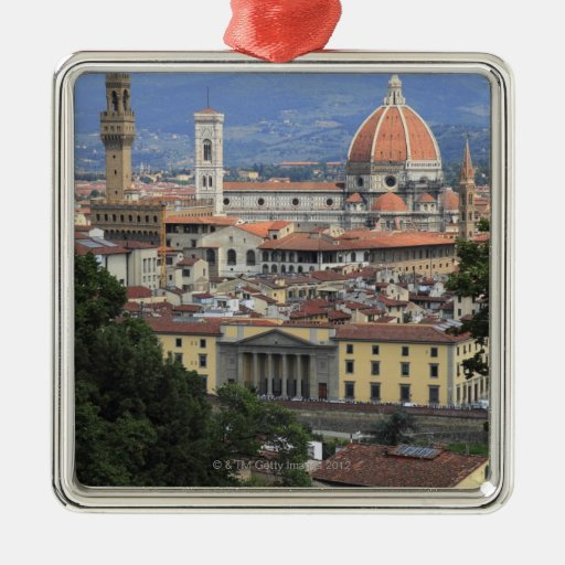 Paisaje urbano de Florencia Ornamento Para Arbol De Navidad
