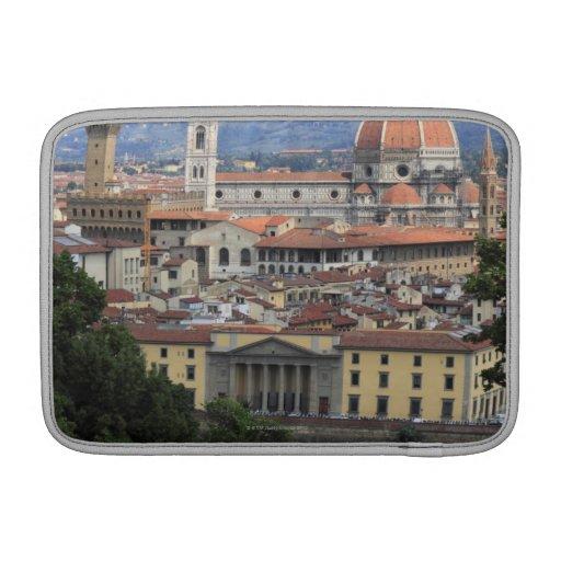 Paisaje urbano de Florencia Funda Macbook Air
