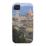 Paisaje urbano de Florencia iPhone 4 Carcasa
