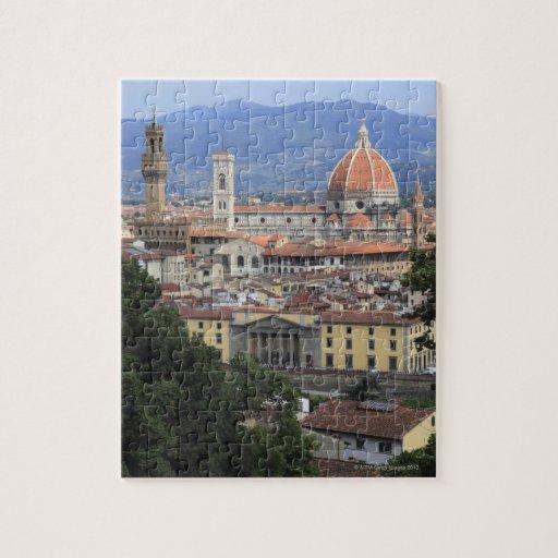 Paisaje urbano de Florencia Puzzle